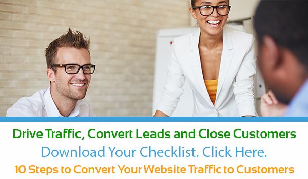 2016 Checklist - Convert Web Traffic to Customers - CTA