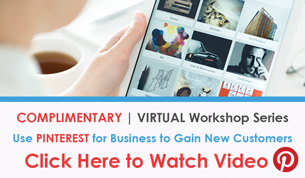 VIDEO Social Media Marketing with PINTEREST