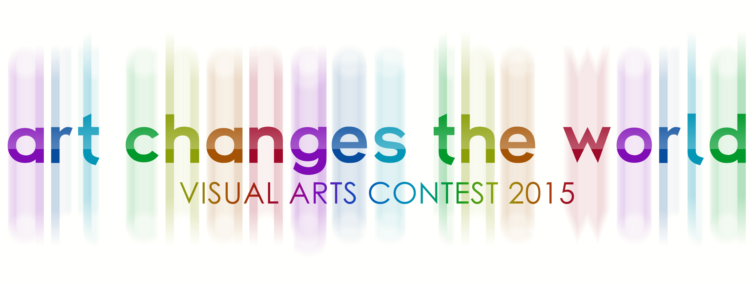 Visual Art Contest - Art Changes the World Logo