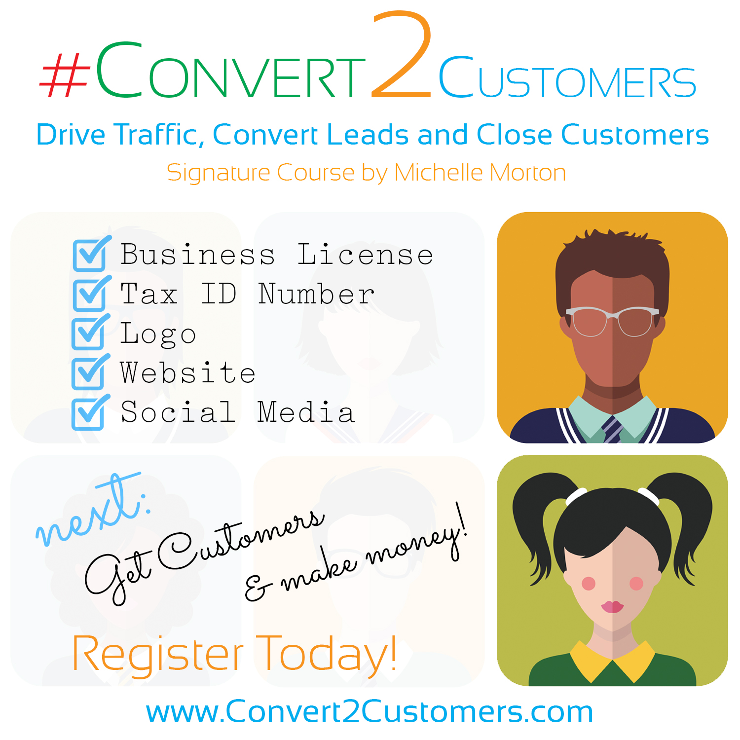 Drive Traffic, Convert Leads and Close Customers