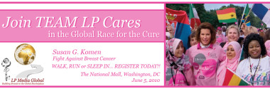 Join TEAM LP Cares in the Global Race for the Cure