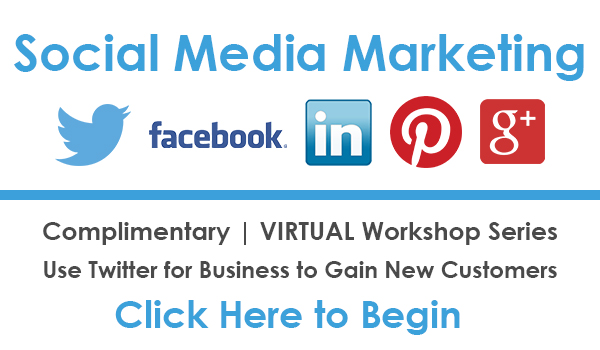 Social Media Marketing VIRTUAL Workshop - Twitter