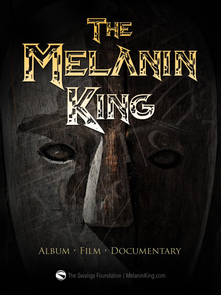 POSTER Design   The Melanin King
