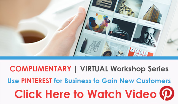 VIDEO Social Media Marketing with PINTEREST