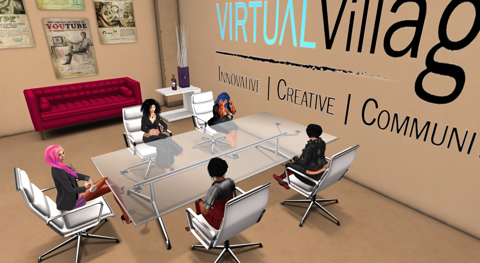 VIRTUAL Worlds and Nonprofit Organizations