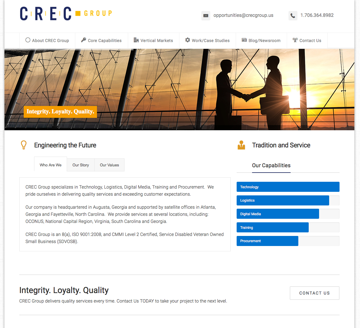 CREC Group - Homepage