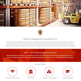 Web Design and Development | Allaire's Management Consulting Firm