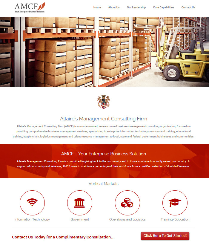 Web design and development allaire s management for Design and development consultants