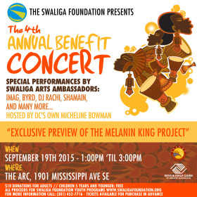 Digital Invitation Design | The Swaliga Foundation