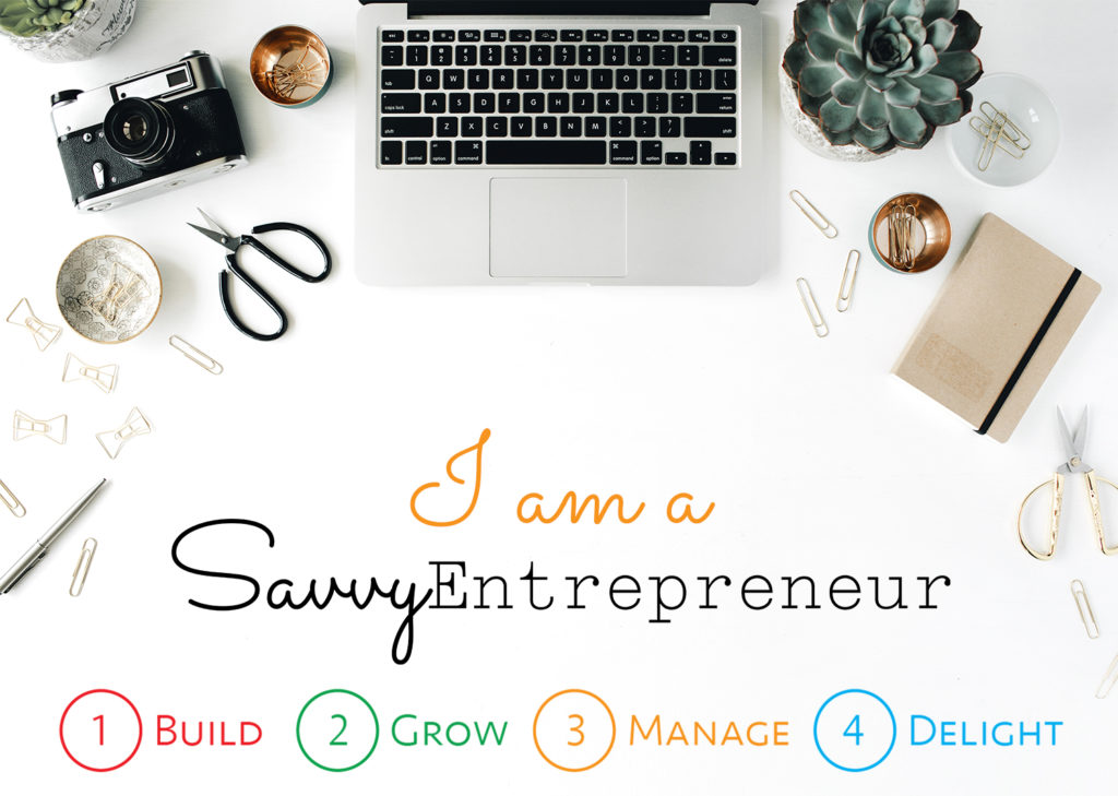 I am a Savvy Entrepreneur 3 ORANGE