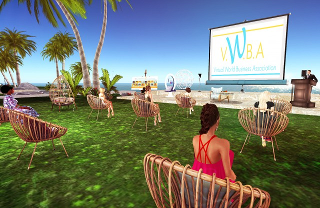Crito Galtier at the VIRTUAL World Business Association